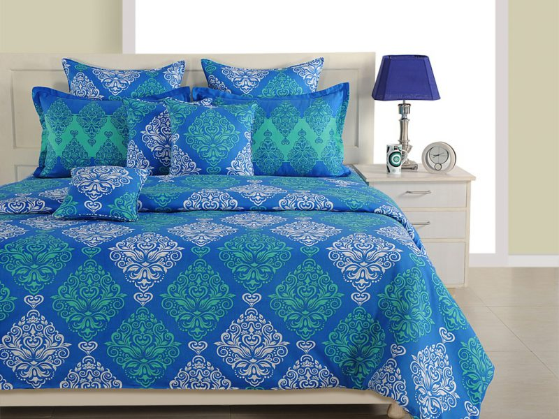Buy Swayam italica Fitted Bedsheet Online in India - Beds | JFA